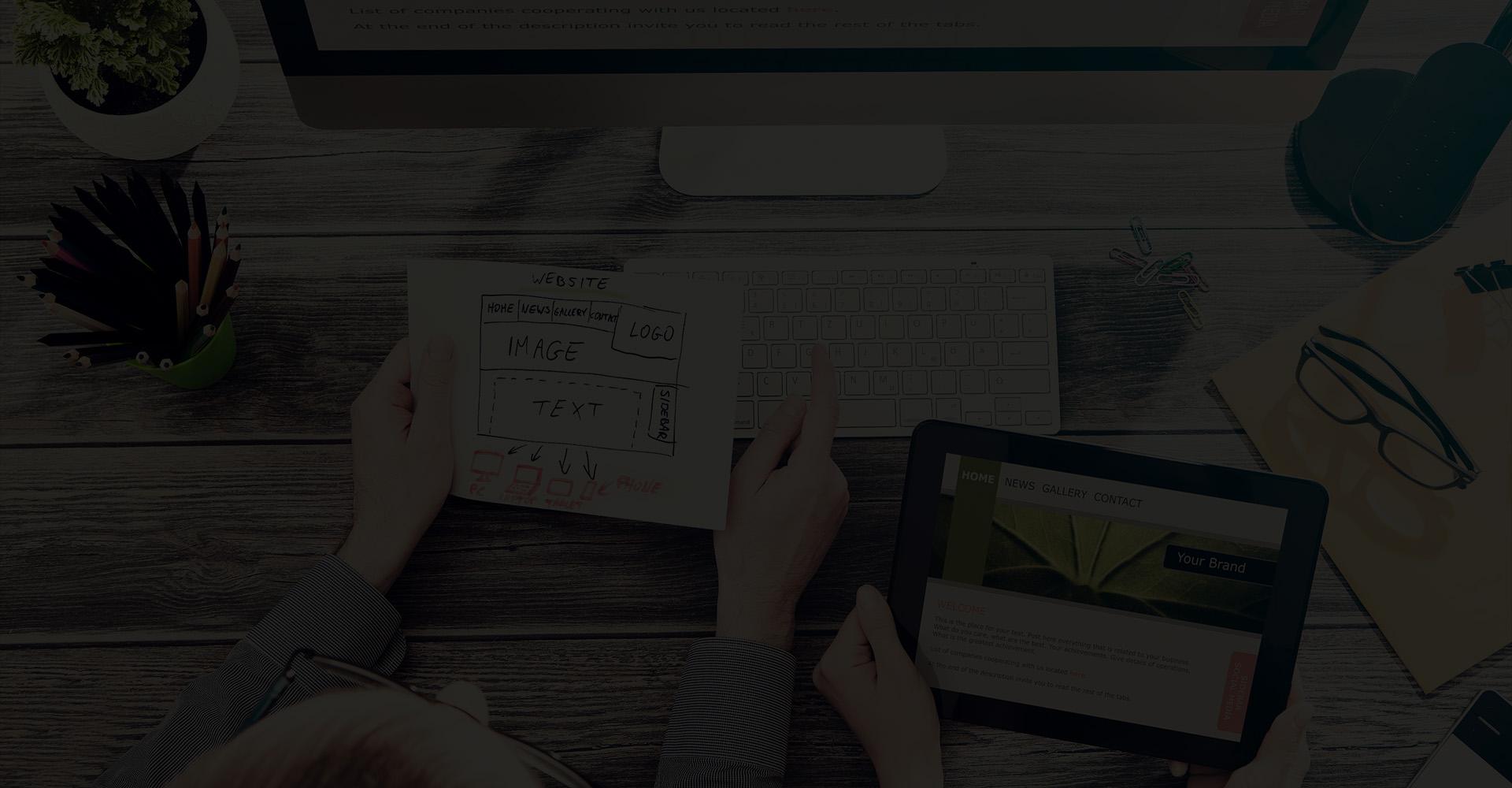 web agency slide